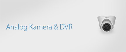 Analog Kamera ve DVR