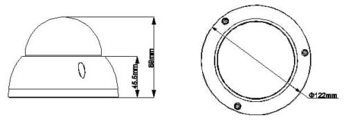 Hac Hdbw2220R Z 2 - 2.4Megapixel 1080P Vandal-Proof Ir Hdcvi Dome Kamera
