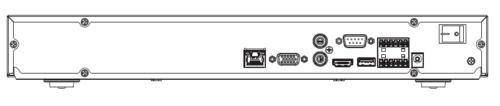 Arka Panel 1 - 8 Kanal 1U 4K Ve H.265 Pro Network Video Kaydedici