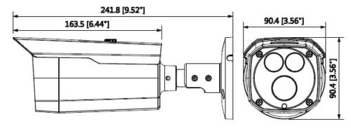Hac Hfw2401D - 4Mp Hdcvi Wdr Ir Bullet Kamera
