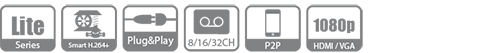 20161222011556 70669 - 16 Kanal Penta-Brid 1080P Lite 2U Dijital Video Kaydedici