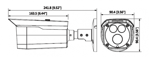 Hac Hfw2231Dp 0360B B 1 - 2Mp Starlight Hdcvi Ir Bullet Kamera