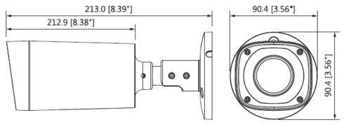 Hac Hfw2231Rp Z Ire6 1 - 2Mp Starlight Hdcvi Ir Bullet Kamera