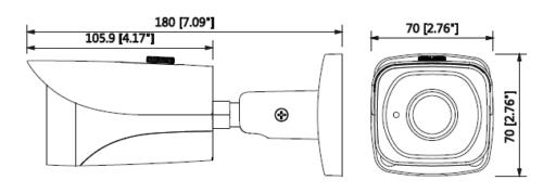 Ipc Hfw4431Ep Se 0360B 1 - 4Mp Wdr Ir Mini Bullet Network Kamera