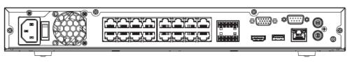 Nvr5216 16P 4Ks2E Arka 1 - 16 Kanal 1U 16Poe 4K Ve H.265 Pro Network Video Kaydedici