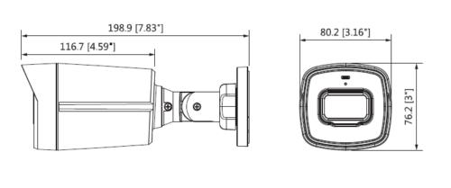 Boyutlar 1 - 2Mp Hdcvi Ir Bullet Kamera
