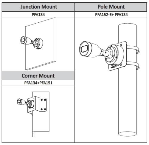 Aksesuarlar 1 - 2Mp Ir Mini-Bullet Network Kamera
