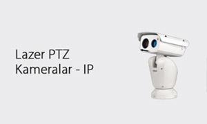 Lazer PTZ Kameralar - IP